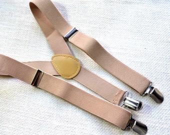Beige Suspender for Baby/ toddler