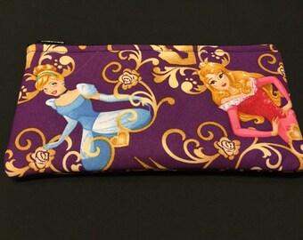 Disney's Princesses Pencil Case/ Zipper Pouch #187