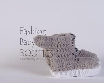 Crochet Yeezy boost, Baby Booties, crochet booties