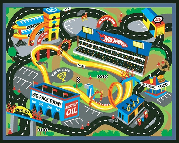 Race Car Track Birthday - Edible Cake and Cupcake Topper For Birthday's and Parties! - D6024