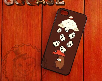 Bear and Panda  iPhone Case for iPhone 4/4s  iPhone 5/5s and iPhone 6/6Puls