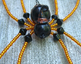Witchy Halloween Spider Sun Catcher/ Wall Decoration