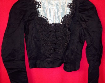 Fancy Beautiful victorian blouse with beads