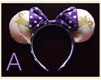 50% OFF SALE!!Bambi Minnie Ears
