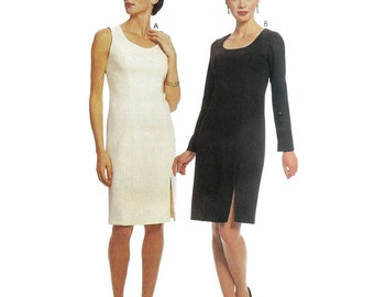 McCall's Sewing Pattern 2280 Misses' Dress  Size:  A  8-10-12-14  Uncut