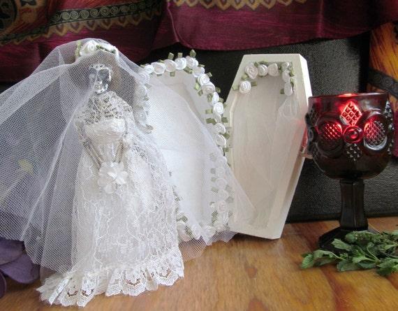 La Catrina día de la novia muerta La Novia De La Muerte esqueleto novia con ataúd