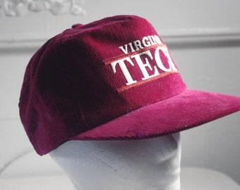vintage Virginia Tech hat