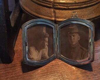 Loved one in Sterling Silver Locket WW1