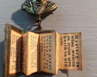 Confucius Say......brooch