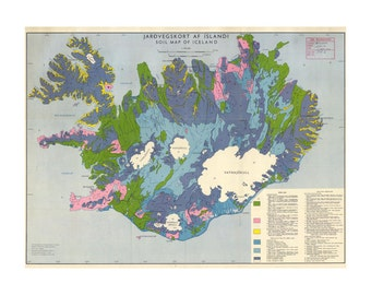 Soil Map of Iceland