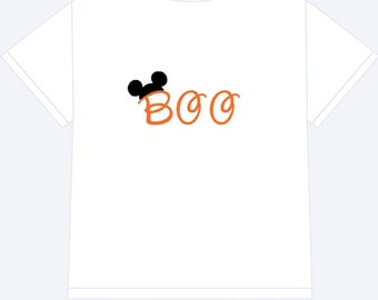 Boo! Personalized Shirt, Mickey Halloween Shirt, Personalized Shirt, Halloween Shirt