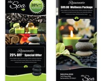 Spa Massage Template Flyer