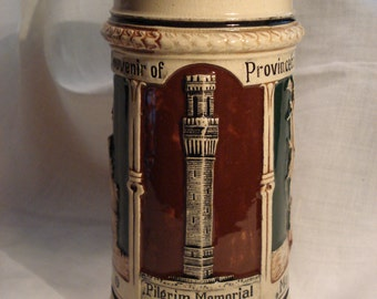 50% off - Provincetown German Stein, Very Rare