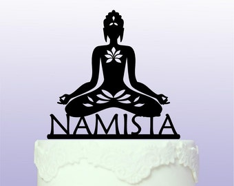 Personalised Buddha Cake Topper