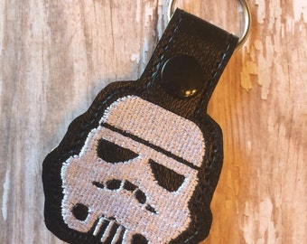 Trooper Snap Tab Keychain