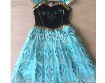 Anna's Coronation day dress-anna frozen/frozen costume