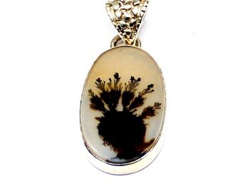 DENDRITIC PENDANT****Free Shipping****