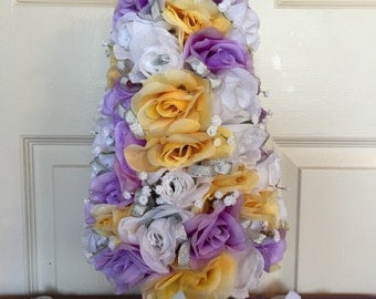 Wedding Tree. Wedding Decoration. Wedding Topiary. Handmade Topiary. Handmade Wedding Topiary. Wedding Centerpiece. Wedding Table Decoration