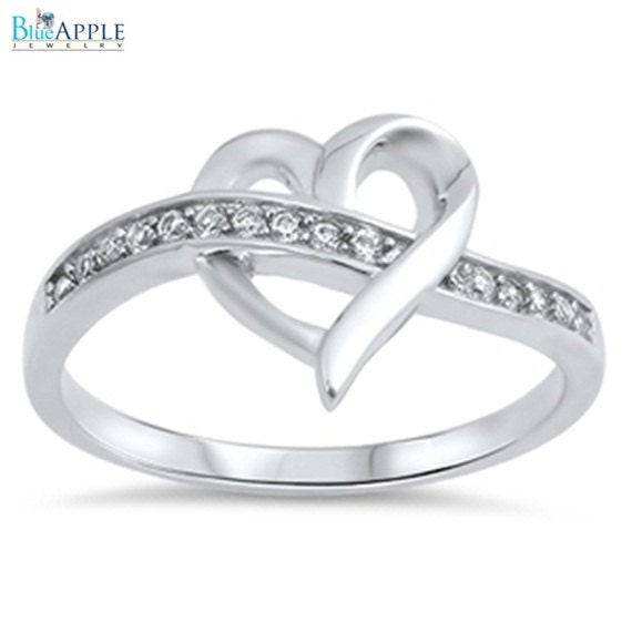 11 mm s promise band ring sterling silver plain