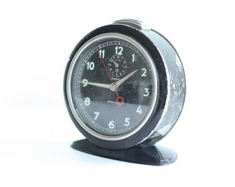 Vintage Junghans Repetition Alarm Clock 1950's working condition