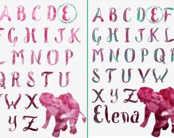Alphabet Nursery Name