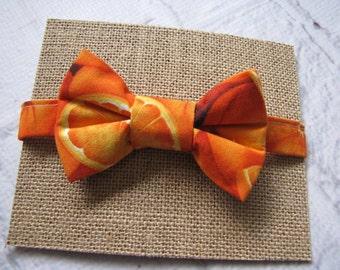 Orange Bow Tie ~ Oranges Foodie Bow Tie ~ Boys Bow Tie ~ Childs Bow Tie ~ Dapper Boys Bow Tie ~ Photo Shoot Outfit