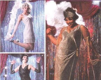 Simplicity 5400 Misses' Chicago, Cabaret Costumes Pattern, 14-20