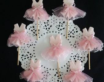 Ballet Birthday, Ballet Cupcake, Tutus Baby Shower, Girls Baby Shower, Ballet Favors, Tutus for Cupcakes, Pink Tutus, Girls Cupcake, Set 12