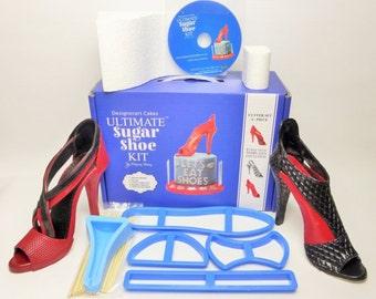 gumpaste stilleto high heel shoe kit with or without sole