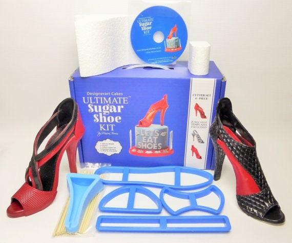 the ultimate high heel shoe sugar shoe kit dvd tutorial for