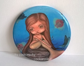 Pocket Mirror limited edition Mermaid