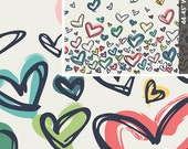 Happy Home Fabric - Where The Heart Is Pure by Sew Caroline for Art Gallery Fabric, AGF Fabric