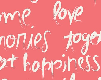 Happy Home Fabric - To Live By Love by Sew Caroline for Art Gallery Fabric AGF Fabric