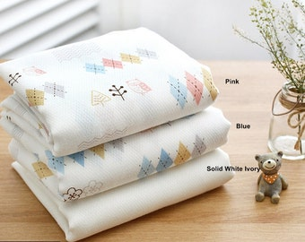 Gauze Fabric in 3 Patterns By The Yard