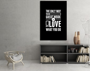 Quote Poster, Art Print, Positive Quote, Minimalist Quotation Print, Wall Decor, Typography Poster - RAVENIDEA