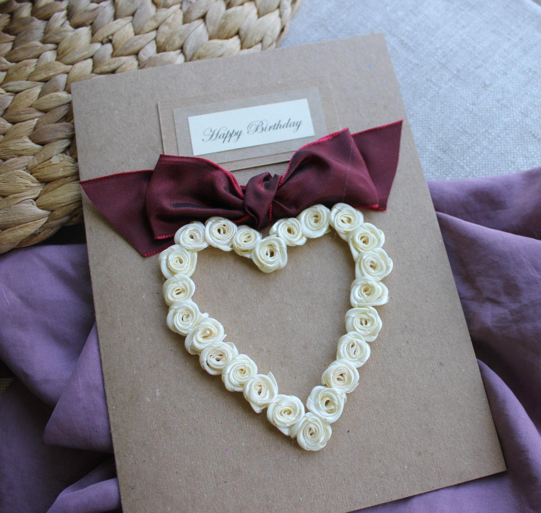personalised handmade birthday card boyfriend husband