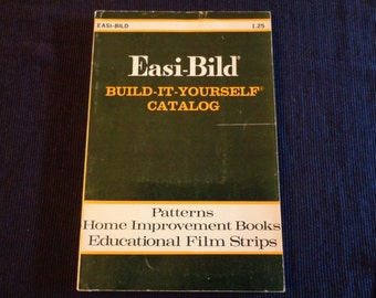 Vintage book  Catalog build it yourself 1974