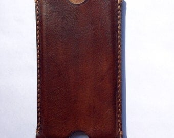 iPhone 6 case, vegetable tanned leather, handmade, iPhone cover, handmade iPhone case