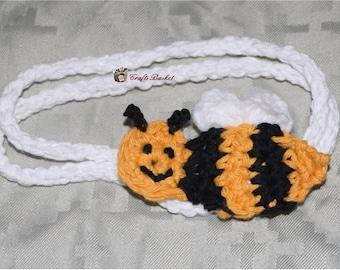 Bumble Bee Crochet Headband