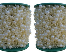 Pearl Garlands Roll  60 Yards mixed 8+3mm