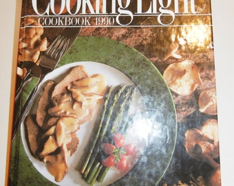 Vintage Cookbook~Cooking Light 1990. Oxmoor House ~ Never used
