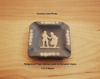 Vintage Wedgewood Type Ashtray - Made In Occupied Japan