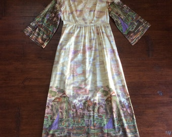Gorgeous 1960s Union-Made Dress { small }