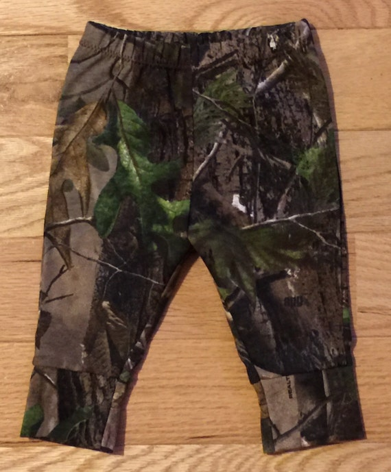 baby boy realtree camo mossy oak pants leggings 100 cotton