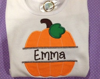 Pumpkin Name Shirt