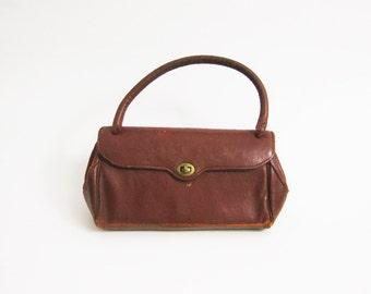 60 Distressed Leather Handbag