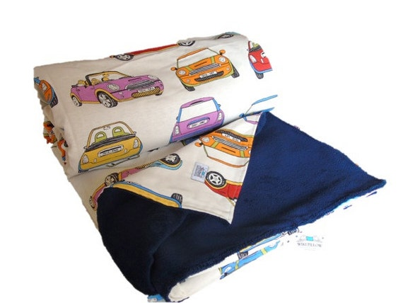 Car Blanket: MINI Cars Blanket Throw Blanket Cars Decor Cars Bedding