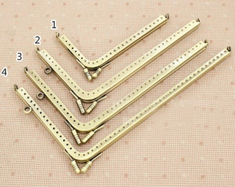 5pcs. purse frame purse clasp clutch frame metal purse frame purse making supplies wholesale