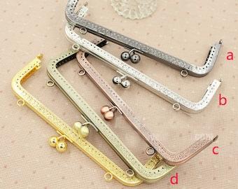 3pcs. 20cm purse frame purse clasp clutch frame metal purse frame purse making supplies wholesale(hw)