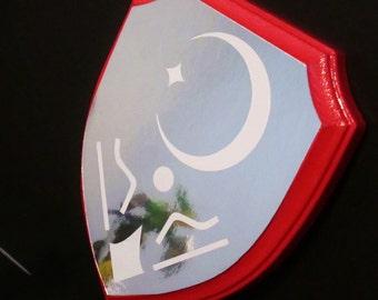 Legend of Zelda inspired Mirror shield / plaque